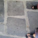 pavement stones (les pavees)